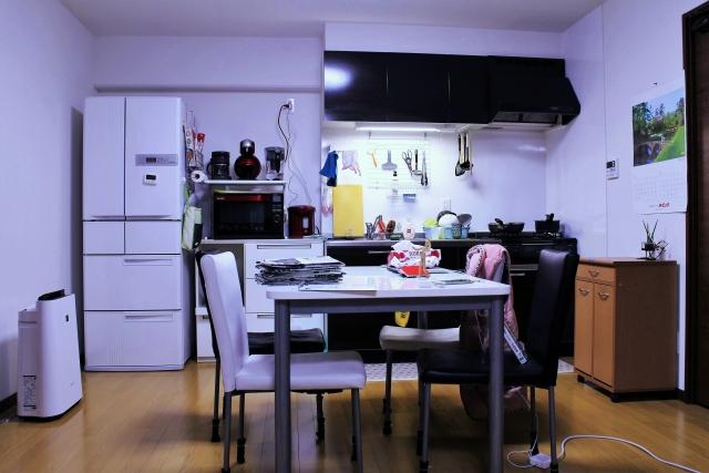 光触媒をコーティングした清潔な居間