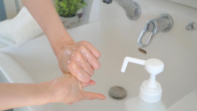 手洗い ウイルスの侵入を遮断:感染経路対策